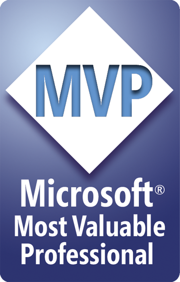 Microsoft MVP for Visual Studio and Development Technologies, Windows Development (Jan 2016 - Dec 2016) / .NET (Jan 2015 - Dec 2015) / Visual C# (Jan 2009 - Dec 2014)